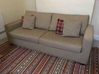John Lewis 3 seater sofa bed