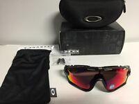 Oakley Jawbreaker Sunglasses Black with Polarised lens BNIB