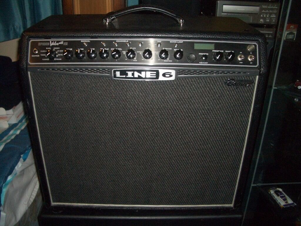 Line 6 Spider Valve MKII 112 Guitar Amplifier + FBV Pedal Infusion 2  Firmware 10 Extra