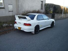 1996 SUBARU WRX STI VERY NICE EXAMPLE SHELLS NEVER BEEN WELDED NICE SPEC MAY PX NO OFFERS IV18 0LP