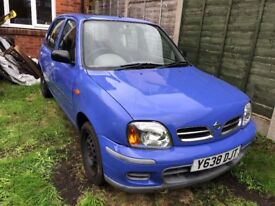 K11 Nissan Micra (No Offers)