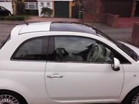 Fiat 500 in White 2011 1.2 lounge, private sale