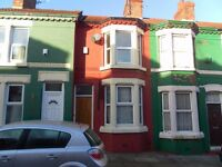 well presented 2 bed mid terr in quiet location, gch, dg, unfurn, Anfield, L6 0AA