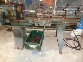 COLCHESTER MAJOR 10 SWING LATHE...