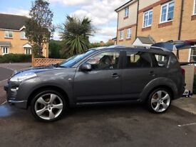Peugeot 4007 4x4 7 seater low mileage beautiful car great condition brand new suspension