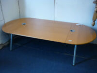 conference table large ,legs extend min height 23 max 35 length 94 width 47 inchs ikea Galant