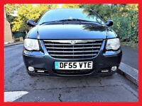 7 Seater (Stow & Go)- Chrysler Grand Voyager 2.8 Automatic - CRD Limited XS - Diesel - Leather Seats