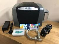 Fargo DTC1000 Plastic Colour ID Card Printer - Only Printed 3680 Cards From New!