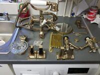 Gold bathroom set all matchin