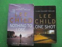 LEE CHILD thrillers