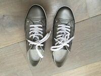 Leather Chanel sneakers size 3UK 36EU
