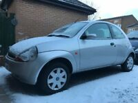 2004 FORD KA SILVER, IDEAL FIRST CAR FOR NEW DRIVERS