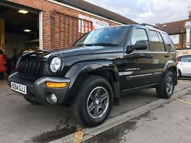 2004(54) Jeep Cherokee 2.8CRD Extreme Sport, F/S/H, Mot March 2018-No Advisories, 2 Keys, Hpi Clear