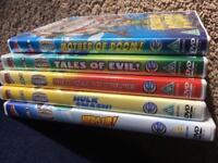 Super hero squad dvds