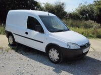 2005 VAUXHALL COMBO 1.7 DIESEL VAN VERY VERY CLEAN SIDE LOADING DOOR
