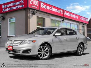 2010 Lincoln MKS NAVI-CAMERA-THX AUDIO-CLEAN CARPROOF-1 OWNER