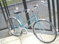 Beautiful Lightweight Ladies 3 Speed bike, styled by Guimard, Serviced