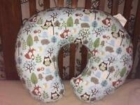 Nearly new nursing pillow £15
