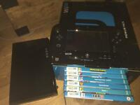 Nintendo wii u premium pack 6 games and controller , boxed