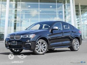 2018 BMW X4 M40i Premium Package and Technology Package!!