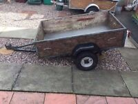 Car trailer 5ft by 3ft