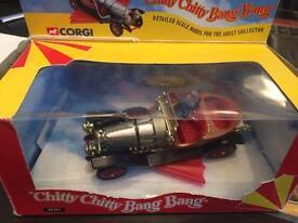 Signed Corgi Chitty Chitty Bang Bang Car