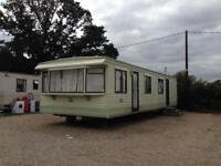 Residential static caravan for rent