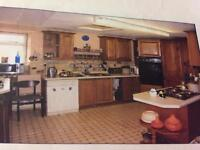 SOLID WOOD KITCHEN WITH APPLIANCES.......Make an offer
