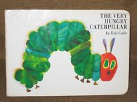 The Very Hungry Caterpillar by Eric Carle in Hardback