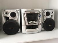 Panasonic CD stereo Hi-Fi system