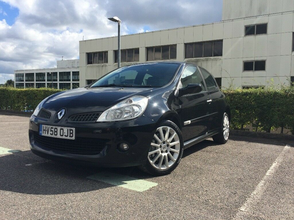 Renault Clio Sport 2.0 VVT Black