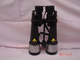 Military binoculars Royal Navy Barr & Stroud CF41 restored