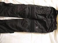 Motorbike Trousers x2 and inner warm wear x2
