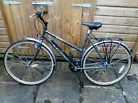 Ladies Raleigh Pioneer Jaguar bicycle