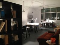 Large Desk Spaces Available in Creative Studio, Whitechapel *£100 Introductory 1st Month Offer*