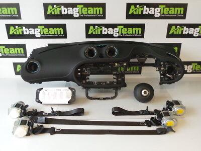 Smart Forfour Airbag Kit 2014   On Driver Knee Passenger Dashboard Seat Belts