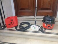 Henry Red Numatic Twin Speed 1200w Vacuum Cleaner HVR200A almost new