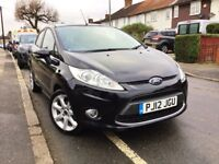 2012 FORD FIESTA 1.2 ZETEC 5DR,28000 MILES,NEW MOT AND FULL SERVICE DONE,GRAB A BARGAIN.