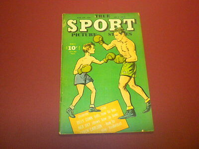 TRUE SPORT PICTURE STORIES Volume 3 #6 Street & Smith 1946