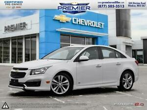 2015 Chevrolet Cruze LT Turbo ***RS, leather, sunroof***