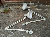 Various Vintage Reclaimed Anglepoise Lamps Anglepoise Lights 1950s 1960s 1970s