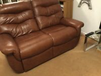 G Plan Leather Sofa