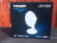 """Fan 12"""" Desk Top 3 Speed new unopened"""