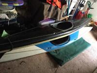 Two canoes for sale £100 for both comes with paddles