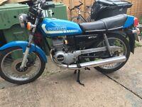 Suzuki gt 125 twin
