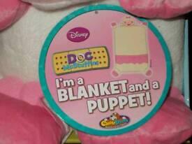 Lambie Cuddleuppet(Blanket Puppet)