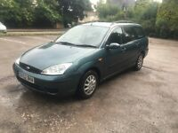 2002 (52 PLATE) FORD FOCUS 1.6 ESTATE.