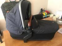 Silver cross carry cot