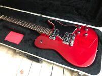 Fender Tele-Sonic 1998 Crimson Red Transparent