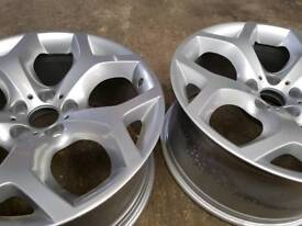 Genuine x5/x6 FRONT alloys x2!!!